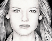 Realistics Portraits in lead Pencil (2011 -2012)