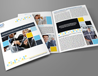 Company Brochure Bi-Fold Template Vol.6