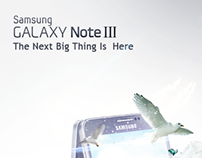 Galaxy Note 3..Advertising