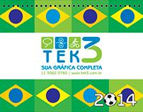 Calendar World Cup 2014