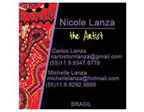 Cartão de Visita da maior artista mirim do planeta