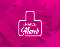 The Nails Of March [logotype]