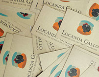 Locanda Gallo, business card
