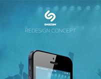 Shazam Redesign Concept