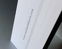 Mike Davis Letterpress Business Cards