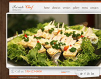 Catering Service HTML5 Template 300111346