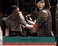 Symbiosis Calendar 2014