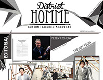 District Homme Newsletter