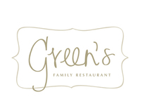 Green's Family Restaurant Identity