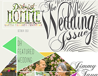 District Homme Newsletter | The Wedding Issue