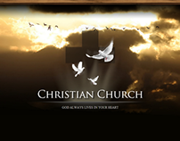 Christian Church HTML5 Template 300111363