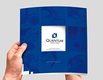 Brochure y website Quantum Consultores