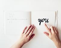 Interactive handmade book