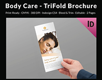Body Care - TriFold Brochure