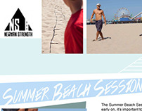 Newman Strength Newsletter | Summer Beach Session