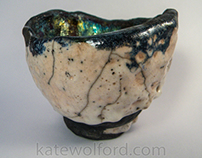 wabi-Sabi Raku Tea Bowl