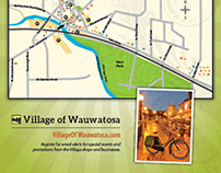 Wauwatosa BID - map & flyer