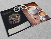 Circle Magazine Template