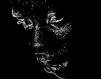 "Portrait ""Dots and Lines"""