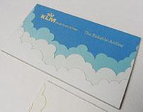 KLM business card tests