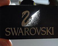 Swarovski crystals card