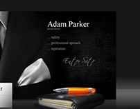 Adam Parker Private Lawyer HTML5 Template