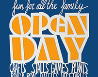 Ballytobin Open Day Papercut Posters 2010-2013