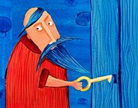 La Barbe bleue, Bluebeard tale