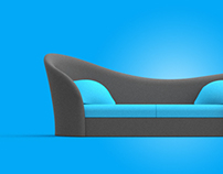 CUKA  sofa design