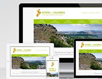 Scopri la Calabria - logo & sito web