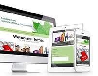 Eastforest Homes // Intranet Redesign