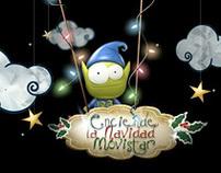 Enciende la navidad Movistar