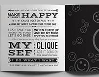 Typographic Booklet | Die Antwoord