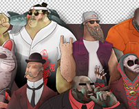SpyDay Character Design