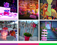 Designs for Carnival Wedding