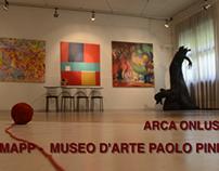 Spot pubblicitario per il Museo d'arte del Paolo Pini