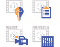 Film Video Division Icons