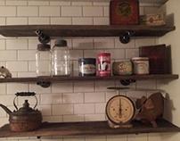 Barnboard Shelf