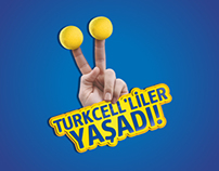 Seyran Patisseries & Turkcell Campaign Poster (2012)