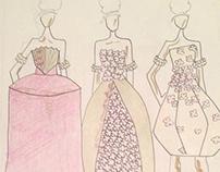 Sketchbook Work: Rococo Inspired