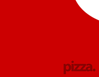 Minimal Poster - Pizza