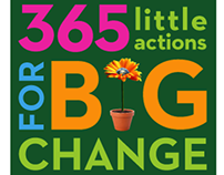 365 Little Actions for Big Change, Book Jacket