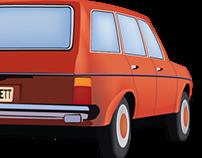 Mercedes, Digital Illustration