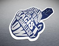 Anti-Wahoo Stickers