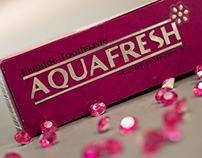 Aquafresh Toothpaste Box