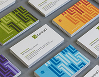 Central 1 Credit Union Business Cards