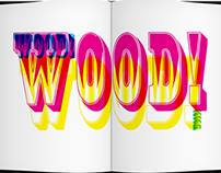 Book Design - American Woodtype
