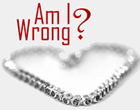 "Music: ""Am I Wrong? [Album Artwork]"