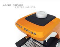 Land Rover Coffee Machine.
