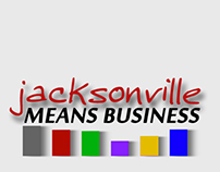Jacksonville Means Business (Logo Design)